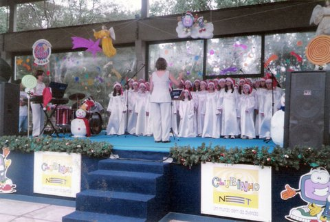 Apresentação Natal Solidário empresa NET TV Parque Ibirapuera