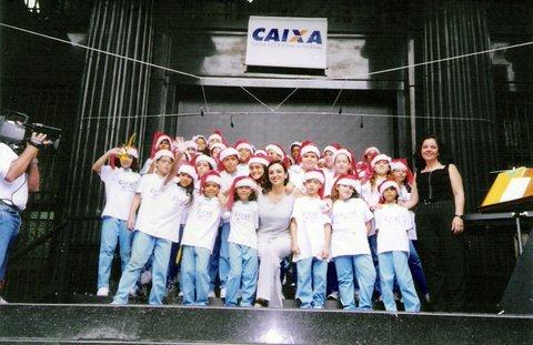 Projeto CAIXA CORAL NATAL na empresa Caixa Econômica Federal