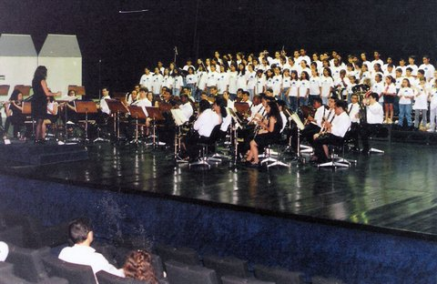 Concerto Banda Jovem do Estado no Memorial da América Latina