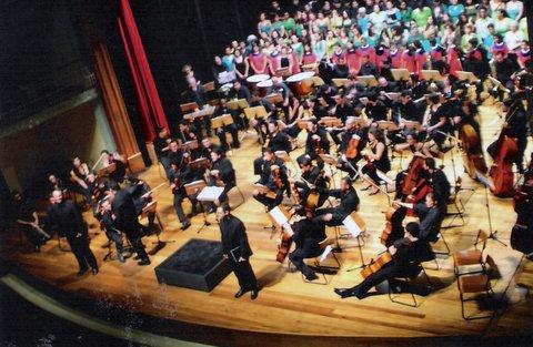 Concerto com Orqeustra Acadêmica de S.P. Teatro S. Pedro