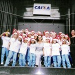 Projeto  CAIXA CORAL NATAL na empresa Caixa Econômica Federal 1